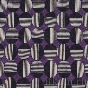 Ткань Трикотаж, узор горошек (0069)