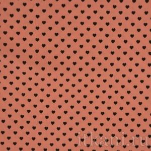 Ткань Трикотаж, цвет розовый (0078)