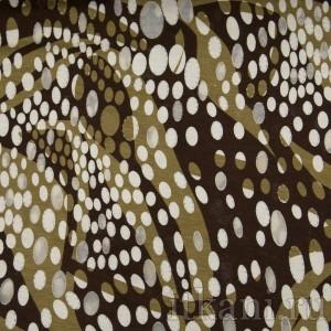 Ткань Трикотаж, узор горошек (0083)