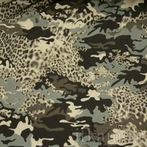 Ткань Трикотаж, узор абстрактный (0095)