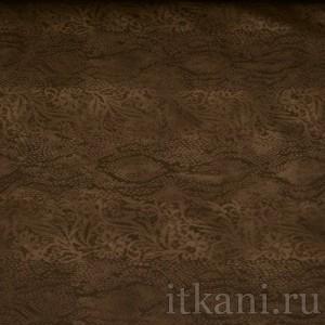 Ткань Трикотаж, цвет коричневый (0108)