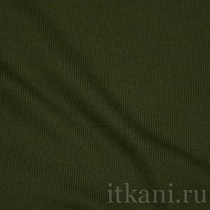 Ткань Трикотаж, цвет зеленый (0143)