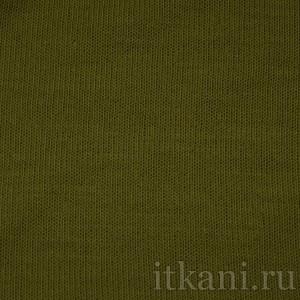Ткань Трикотаж, цвет зеленый (0146)