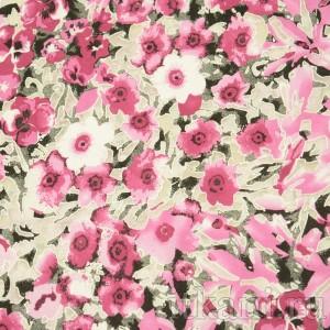 Ткань Трикотаж, узор цветочный (0159)