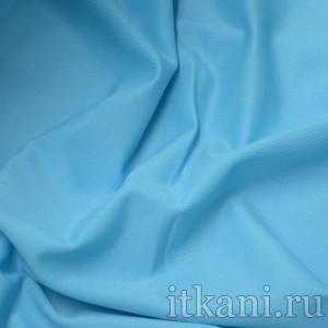Ткань Трикотаж, цвет голубой (0175)