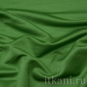 Ткань Трикотаж, цвет зеленый (0188)