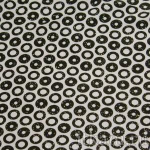 Ткань Трикотаж, узор горошек (0272)