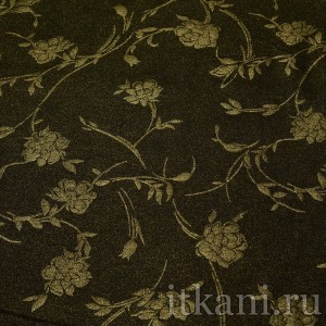 Ткань Трикотаж, узор цветочный (0279)