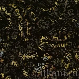 Ткань Трикотаж, узор цветочный (0280)