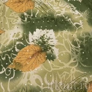 Ткань Трикотаж, узор цветочный (0291)