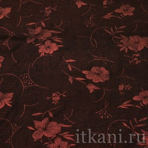 Ткань Трикотаж, узор горошек (0297)