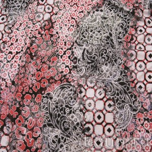 Ткань Трикотаж, узор абстрактный (0303)
