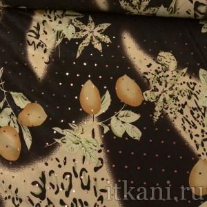 Ткань Трикотаж, узор цветочный (0312)