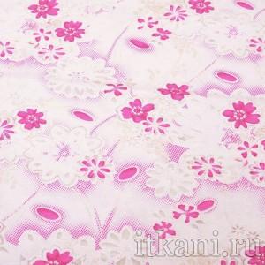Ткань Трикотаж, узор цветочный (0313)