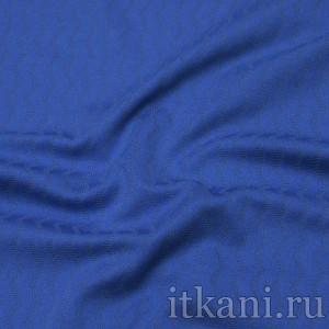 Ткань Трикотаж, цвет синий (0314)