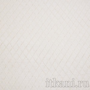 Ткань Трикотаж, цвет белый (0352)