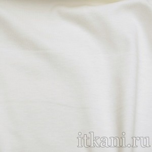 Ткань Трикотаж, цвет белый (0380)