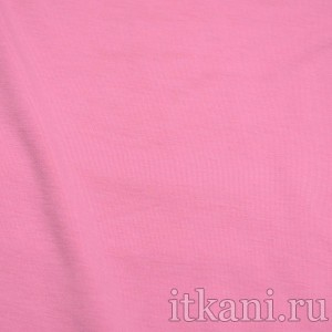 Ткань Трикотаж, цвет розовый (0381)