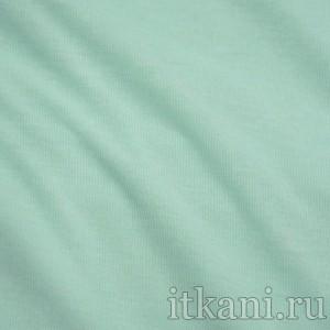 Ткань Трикотаж, цвет бирюзовый (0388)