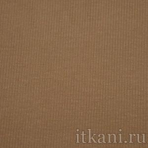 Ткань Трикотаж, цвет коричневый (0411)