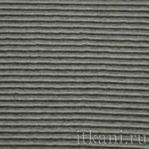 Ткань Трикотаж, цвет серый (0504)