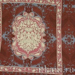 Ткань Трикотаж принтованный, узор цветочный (1605)