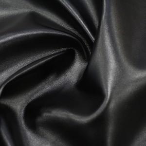 Искусственная Кожа  290 г/м2, цвет черный (9903)