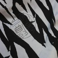 """Ткань Лоренсо """"Черное и Белое"""""""