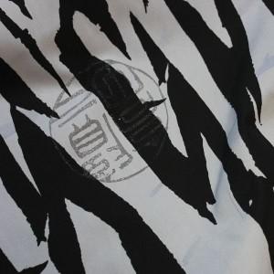 """Ткань Лоренсо """"Черное и Белое"""" (i82)"""