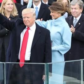 Образ дня от Мелании Трамп на инаугурации президента США