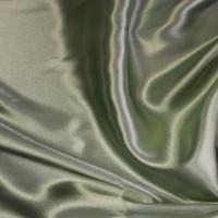 """Ткань Атлас """"Серый Зеленый чай"""""""