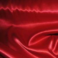 Ткань Атлас стрейч плотный Красный
