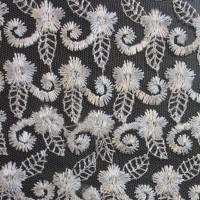 """Ткань Гипюр """"Белые цветы"""""""