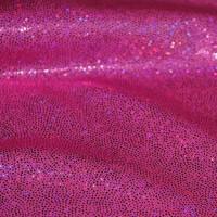 """Ткань голограмма """"Розовые блестки"""""""