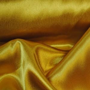 """Ткань Креп-сатин """"Желтый"""", цвет желтый (i354)"""
