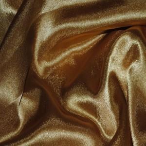 """Ткань Креп-сатин """"Сепия"""", цвет коричневый (i363)"""