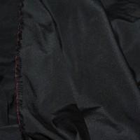 """Ткань курточная """"Угольно Черная"""""""