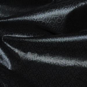 "Ткань курточная ""Черная абстракция"" (i1260)"