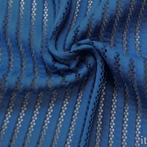 Неопрен с перфорацией 9019 цвет синий