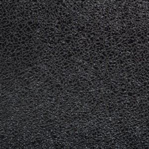 Парча с напылением 150 г/м2, цвет черный (9980)