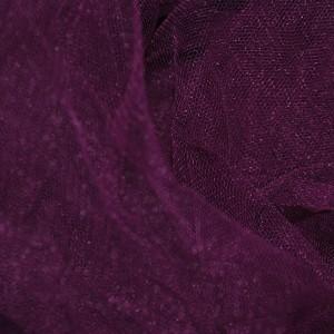"""Сетка мягкая (Фатин)  """"Сливовая"""", цвет фиолетовый (i380)"""