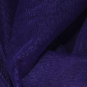 """Сетка мягкая (Фатин)  """"Темный Индиго"""", цвет фиолетовый (i383)"""