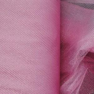 """Сетка (Фатин) """"Пюсовая"""", цвет розовый (i418)"""