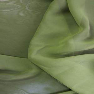 "Ткань Шифон ""Травяной"", цвет зеленый (i222)"