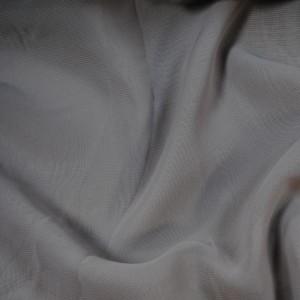 """Ткань Шифон """"Серый"""", цвет серый (i225)"""