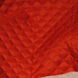 """Ткань подкладочная термостежка """"Алая"""", цвет красный (i1122)"""