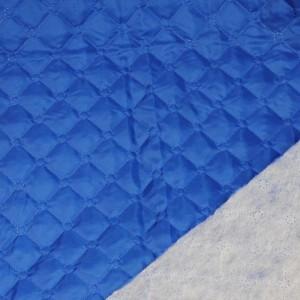 """Ткань подкладочная термостежка """"Синяя"""", цвет синий (i1125)"""