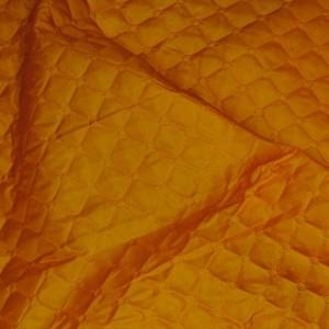 """Ткань подкладочная термостежка """"Рыжая"""", цвет оранжевый (i1137)"""