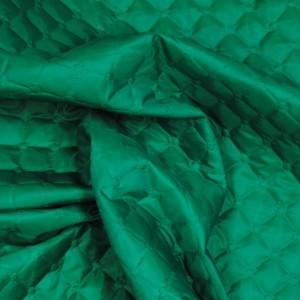 """Ткань подкладочная термостежка """"Нефрит"""", цвет зеленый (i1138)"""