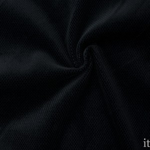 Велюр 300 г/м2, цвет черный (8874)